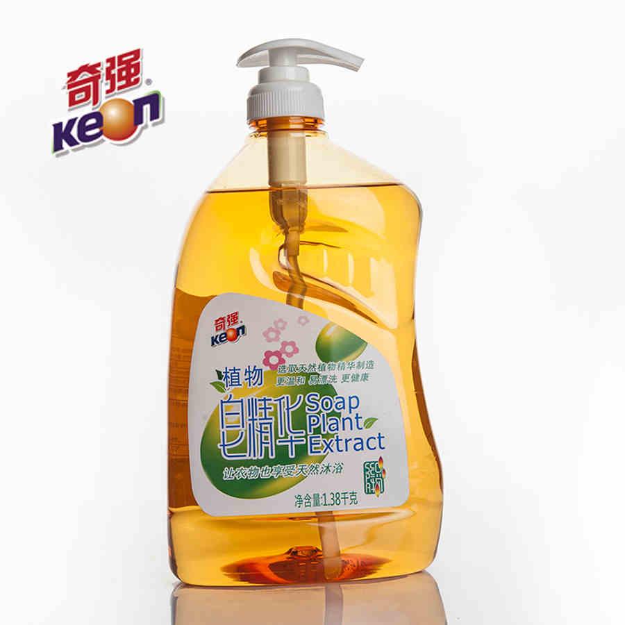 家居洗化用品 奇强植物皂精华(洁净手洗型)1.38