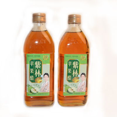 紫林苹果醋 510g 瓶装