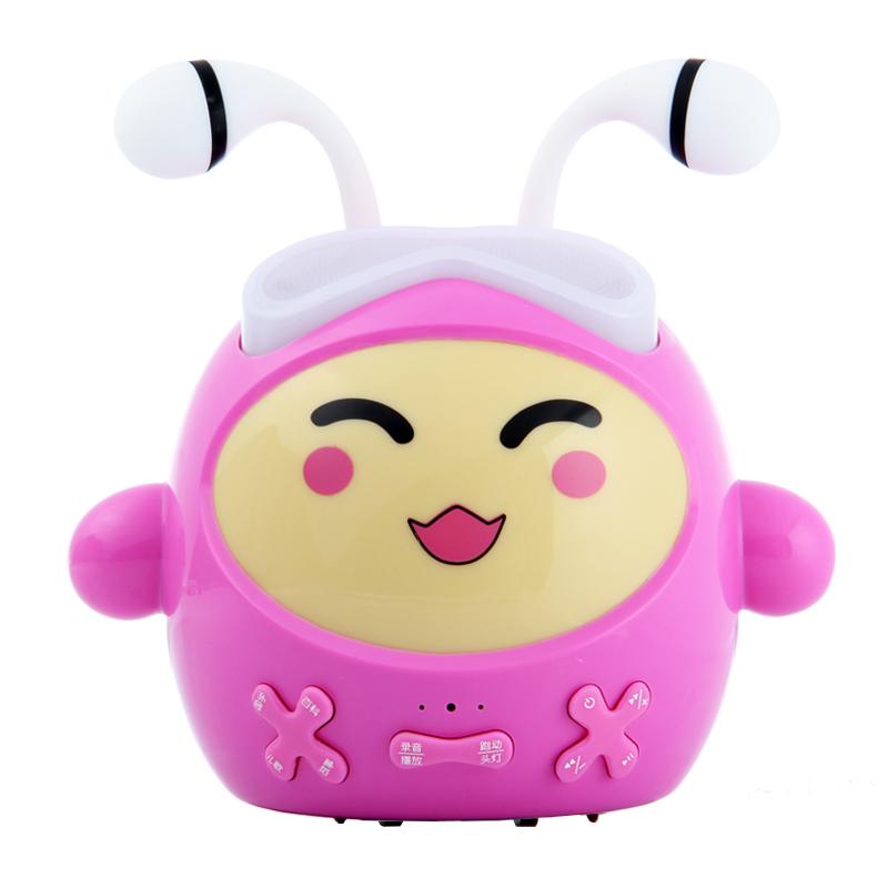 早教通跑跑蚁婴儿故事机儿童智能玩具可充电下载0-3-6