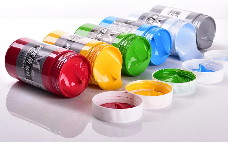 丙烯颜料 300ml 手绘彩绘写生室内墙绘涂鸦防水颜料 42色 每瓶