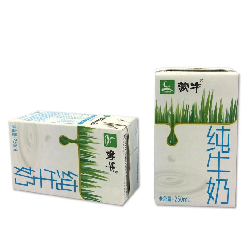 蒙牛纯牛奶250ml*24盒牛奶盒装学生 中老年 孕妇