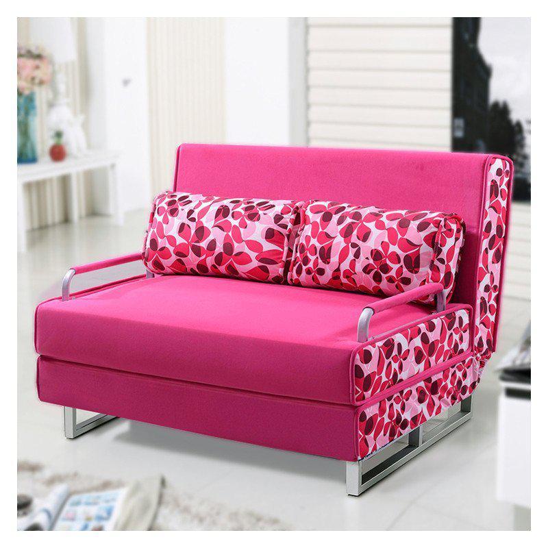 约梦千年沙发床 折叠沙发床 布艺双人沙发床 小户型多图片