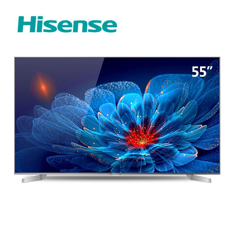 hisense/海信 led55ec550ua 55吋金属4k 14核智能平板