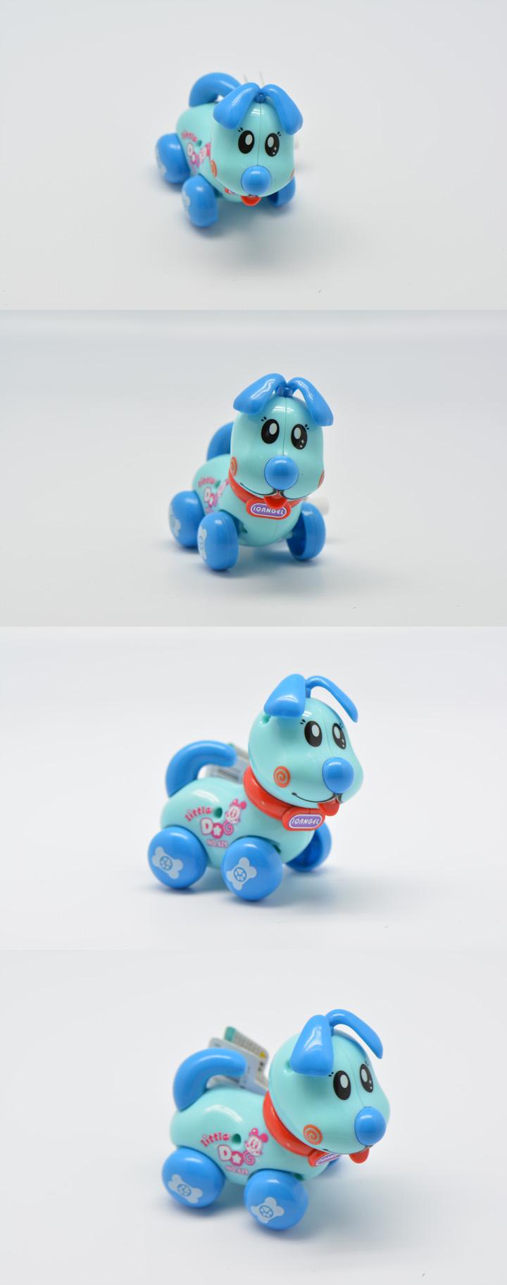 玩具 卡通动物汽车 小蓝狗 回力车