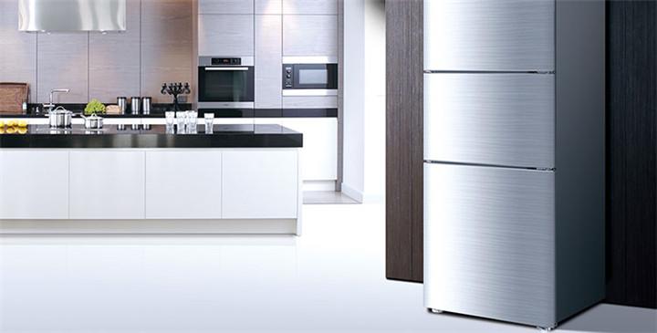国庆钜惠海尔冰箱 bcd-206stpa 206l 定频 直冷 机械控温 三门冰箱