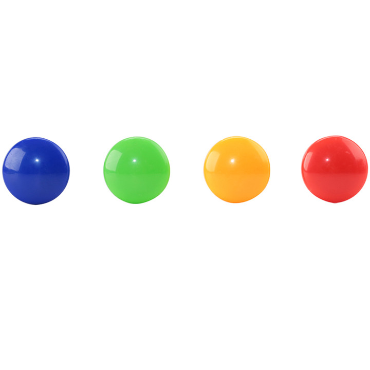 得力8726磁力扣 彩色磁钉 办公磁性白板磁粒黑板吸铁石 单枚(得力品牌
